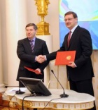 Signing of an agreement with Rossotrudnichestvo