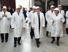 In the Tyumen region a large turkey production and processing complex was opened