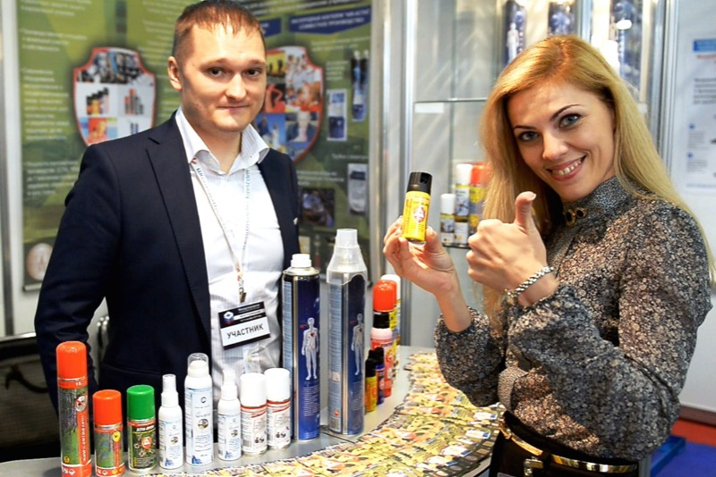 The Tyumen Aerosols Company has become one of the best exporters in the country