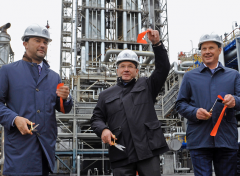 Antipinsky refinery reached a record for the Russian oil refining