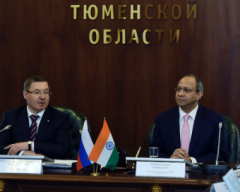 Tyumen Region Strengthens Relations with India