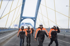 Residents of Tyumen constructed the longest bridge in Central Asia